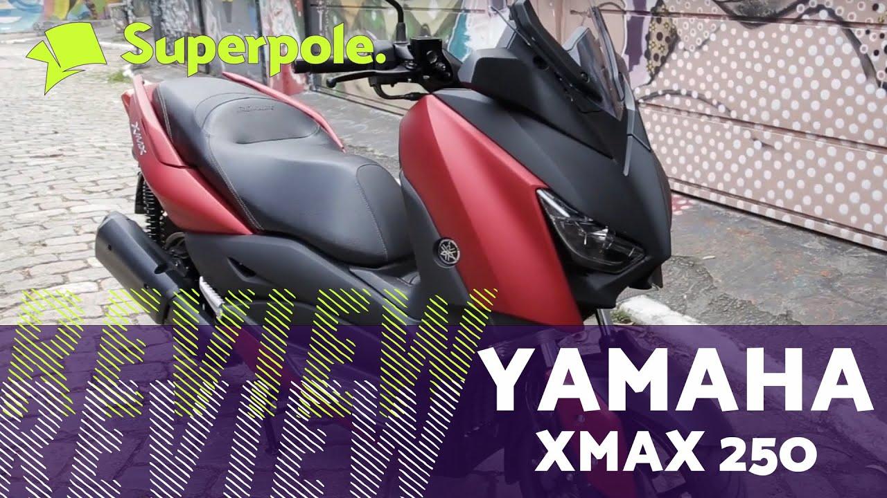 Quer saber tudo sobre a nova XMax 250 da Yamaha? Vale a Pena? Confere o Review aqui na Superpole TV