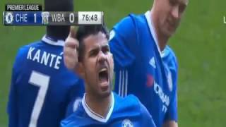 Chelsea VS West Bromwich 1-0 - All Goals & Highlights - Premier League