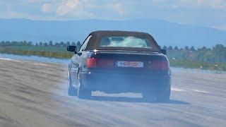 Audi 80 Cabrio 20V Turbo Acceleration SOUNDS