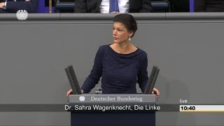 Сара Вагенкнехт о Мартине Шульце и социальном неравенстве [Голос Германии]