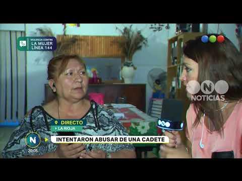 Intentaron violar a una cadete de La Rioja – Telefe Noticias