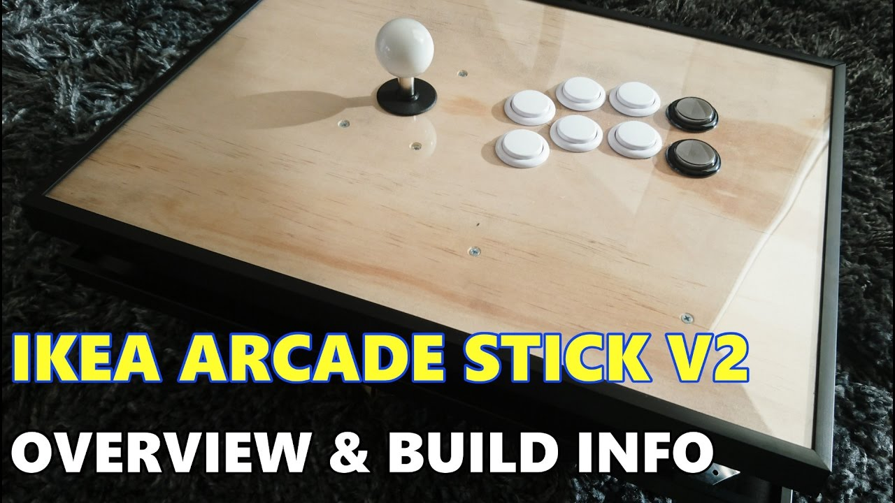 Ikea Arcade Stick V2: Overview
