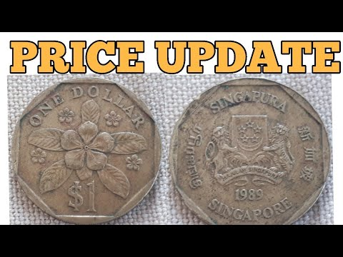 1989 Singapore One Dollar Coin Value