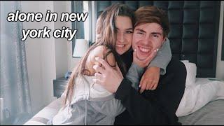 going to nyc alone with my boyfriend!