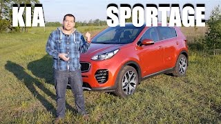 2016 KIA Sportage GT-Line 1.6 T-GDI 7-DCT (ENG) - Test Drive and Review