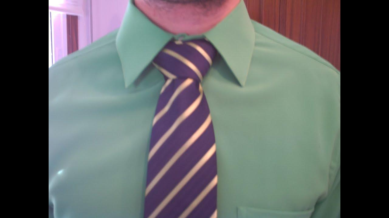 como hacer un nudo de corbata ancho elegante youtube