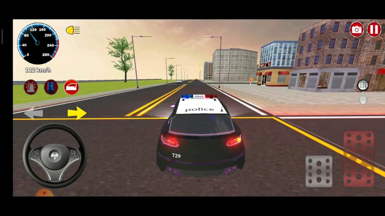Araba Oyunlari Turk Polis Arabasi Oyunu Car Game Police Car