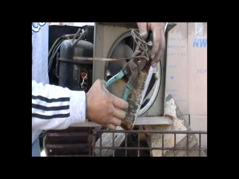 Scrapping An AC Unit With Mike The Scrapper