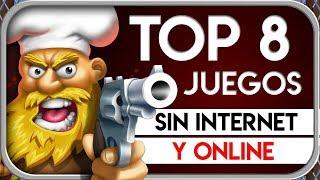 TOP 8 Mejores JUEGOS ¡Sin INTERNET & ONLINE! de ACCIÓN | Juegos BUENOS de teléfonos Android-iOS 2019
