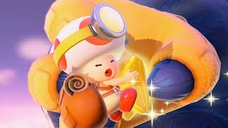 Captain Toad: Treasure Tracker 100% Walkthrough Part 6 - The Captain Gets Toadnapped!