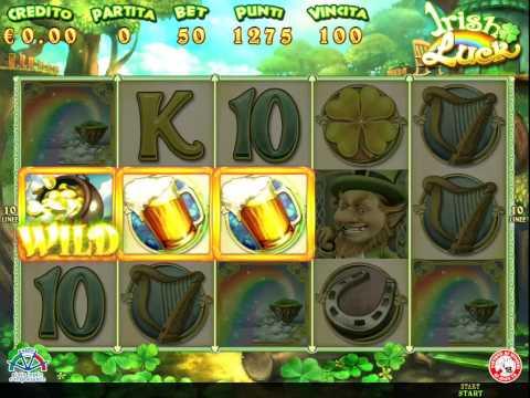 Irish Luck - AWP - New Slot - Slot machine comma 6A
