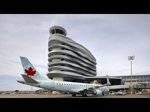 YEG Edmonton International Airport VIEW + (PLANE RIDE)