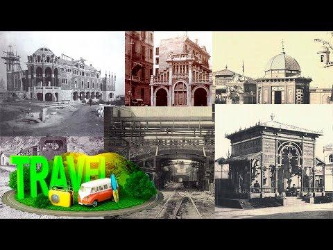 España #Barcelona antigua 1854-1920 ② ☕ HD 1080p