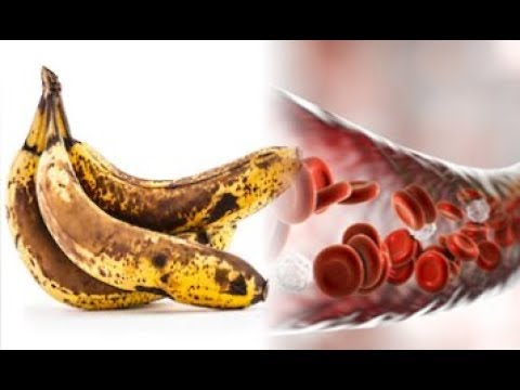 WHAT HAPPENS WITH YOUR BODY AFTER EATING BANANAS WITH BLACK SPOTS