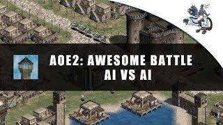 AoE2 - AI vs AI Battle!