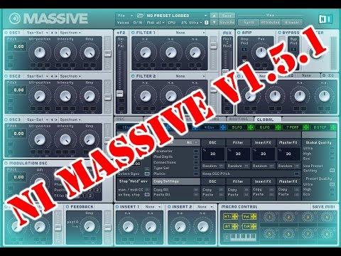 VST Plugins   NI Massive v1.5.1 Win & MAC + Bonus 50k Preset Full - Free Download
