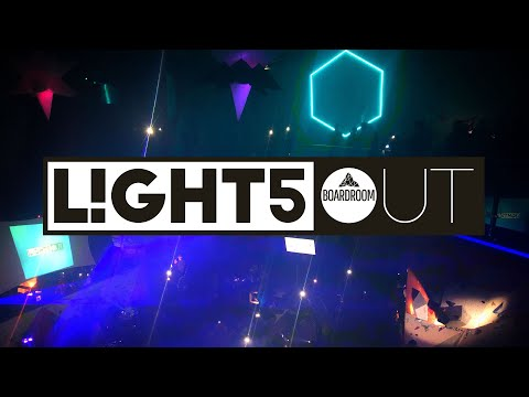 Lights Out! The Boardroom's 5th Birthday!