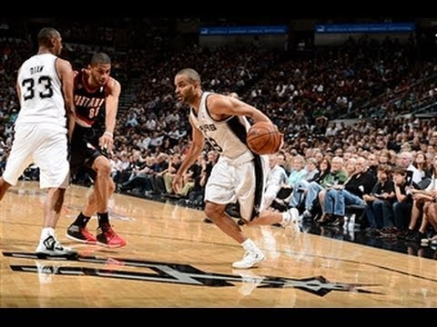 Tony Parker Torches the Trail Blazers for 33 Points