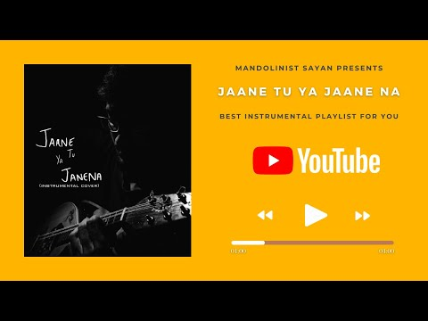 Tera Mujhse Hai Pehle Ka Naata Koi ( Jaane Tu Ya Jaane Na ) - Instrumental Cover YouTube Music Video