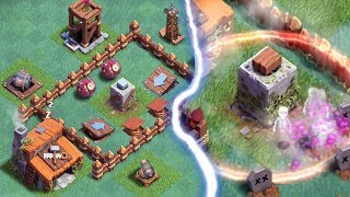 CRUSHER TROLL BASE | Clash of Clans | Builder Base Funny Moments and Fails