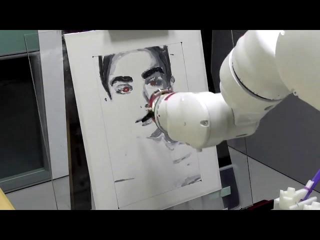 RobotArt 2018 - amber