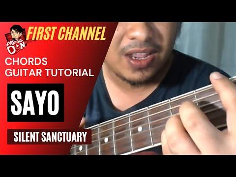 Guitar Chords: SAYO - Silent Sanctuary - beginners easy guitar tutorial