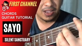 Baixar Guitar Chords tutorial: SAYO - Silent Sanctuary