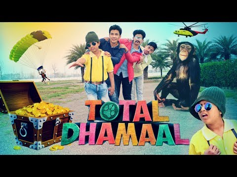 Total Dhamaal Spoof   Ajay   Anil   Funny Video   Round2World   R2W