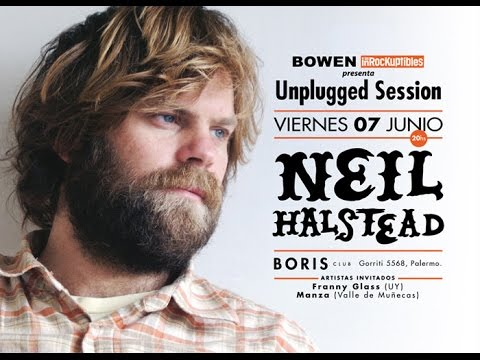 NEIL HALSTEAD - VIVO ARGENTINA 07-06-13 (BORIS CLUB)