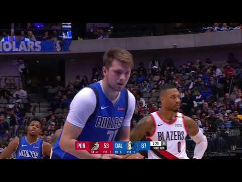 Luka Doncic Vs POR 21 PTS                 12.04.18