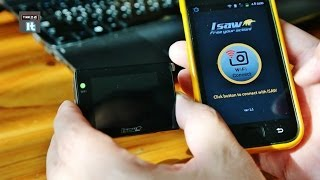 Isaw Extreme action camera Smartphone connection via WiFi IsawViewer App