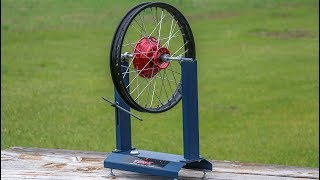 The Easiest Way To True Motorcycle Wheels!