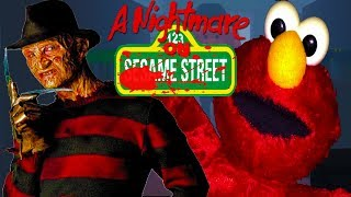 A NIGHTMARE ON SESAME STREET | DON'T LET FREDDY CATCH YOU!!