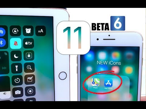 iOS 11 Beta 6 Released What