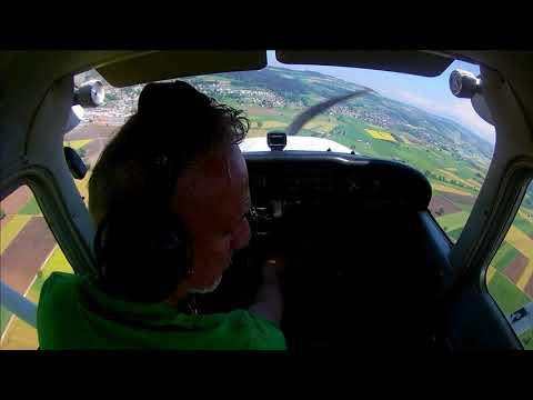 Flying around central switzerland, Luzern, Aargau....