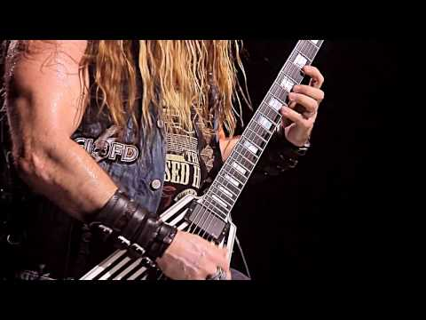 Black Label Society on GIGANTOUR Ep.#4 (SOLO OF DOOM)