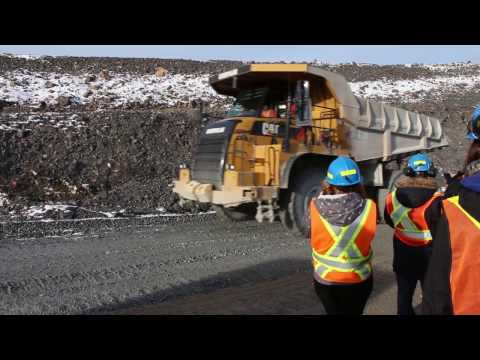 Mineral Engineering Field Trip to SAS Goldfields Open Pit Mine (2013)