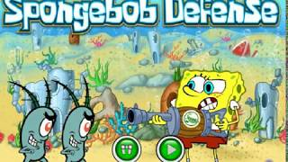 Spongebob Defense (Defense Shooting game)