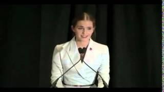 emma watson heforshe speech subtitles en 日本語 руский