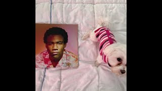 FIRST EVER PUPPY VINYL UNBOXING! CHILDISH GAMBINO - BECAUSE THE INTERNET