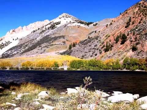 아름다운 가을단풍- Beautiful Bishop Creek, California 2014 - YouTube