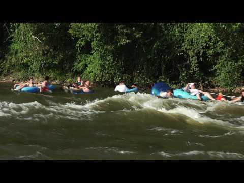 Delaware River Tubing Montage