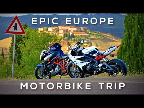 Epic Europe Motorcycle Roadtrip - London to Tuscany Summer 2015