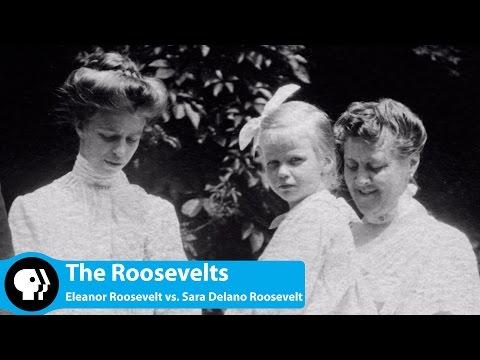 Eleanor Roosevelt vs  Sara Delano Roosevelt