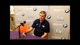 Post Game: Paul Johnson (Clemson loss)