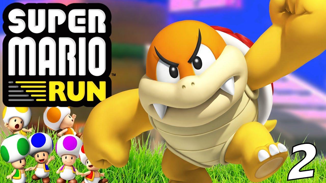 Super Mario Run - World 2 | TOAD RALLY VICTORY!