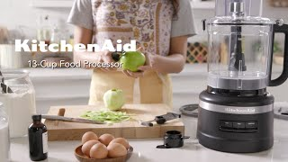 Explore the KitchenAid 13 Cขp Food Processor with Dicing Kit