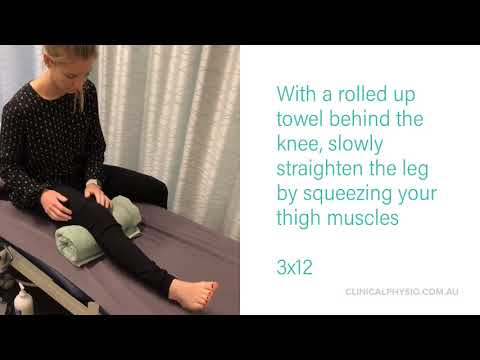 The Best Knee Exercises Pre and Post Surgery