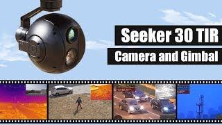 FOXTECH SEEKER-30 TIR 30X Optical Zoom Camera with 3-axis Gimbal