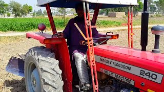 Agriculture: Working Tractor In Punjab | Village Life In Pakistan